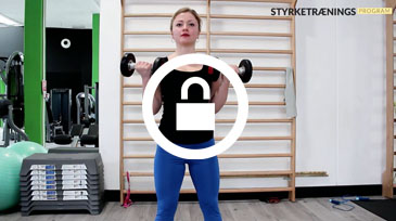 Dumbbell curls video