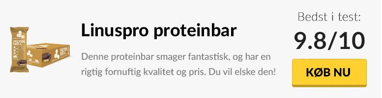 Test af Linuspro proteinbar