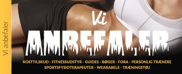 Vi anbefaler fitnessudstyr