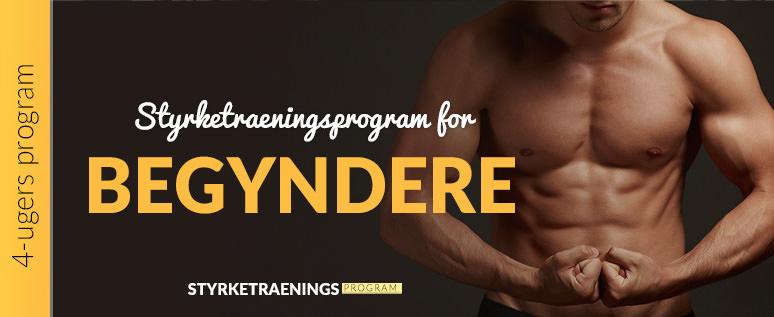 Styrketræningsprogram for begyndere