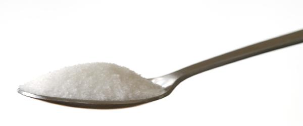 Spiseske med pulver