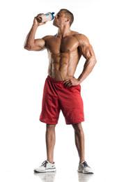 Bodybuilder proteinshake