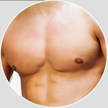 Brede brystmuskler
