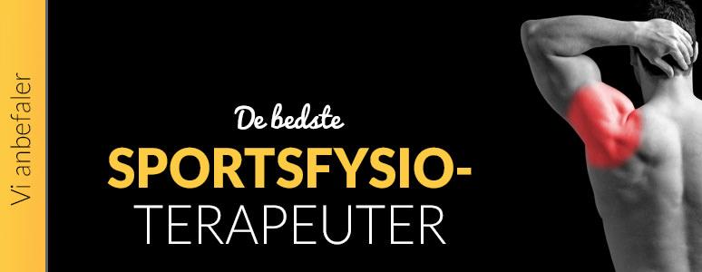 De bedste danske sportsfysioterapeuter