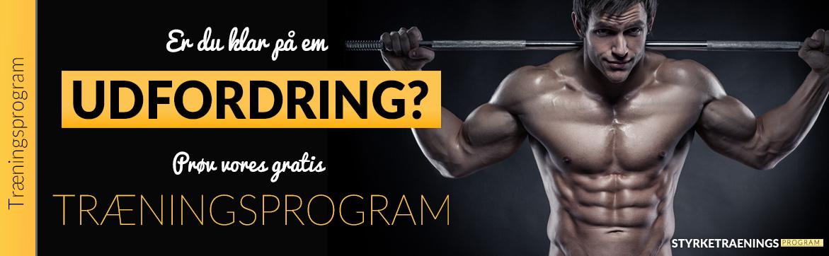 Udfordrende træningsprogram