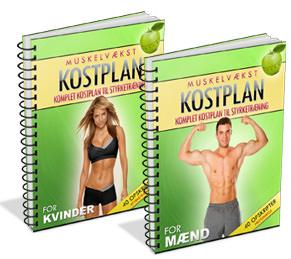 Kostplan til mænd og kvinder