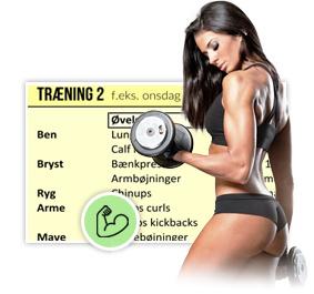 Gratis styrketræningsprogram til kvinder